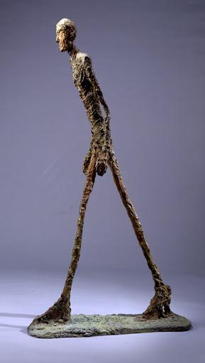 Alberto Giacometti, El Hombre Caminando.